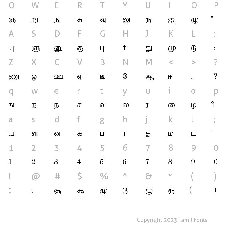 Bamini PB Regular: Download for free at Tamilfonts  : Tamil Fonts